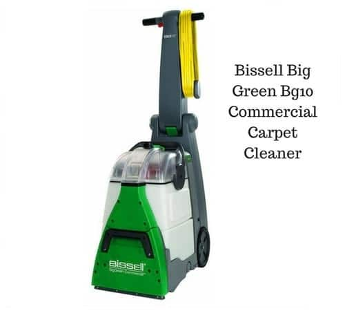 Bissell big green bg10 commercial carpet cleaning machine