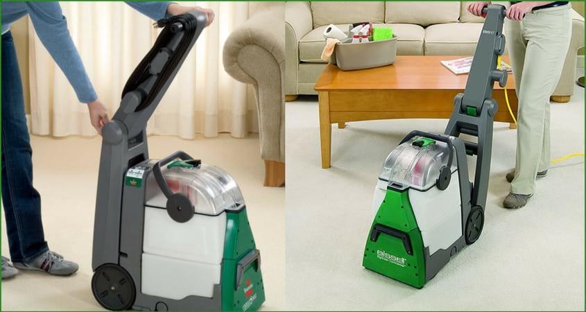 Bissell Big Green Commercial bg10 Carpet Cleaner Reviews