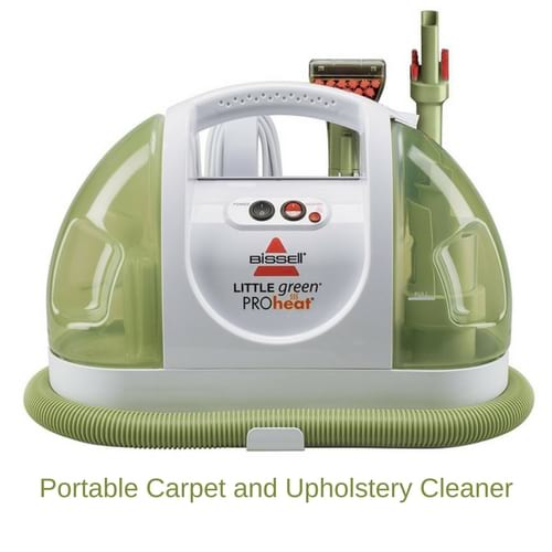 Portable Carpet and Upholstery Cleaner