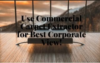 Best Commercial Carpet Extractor