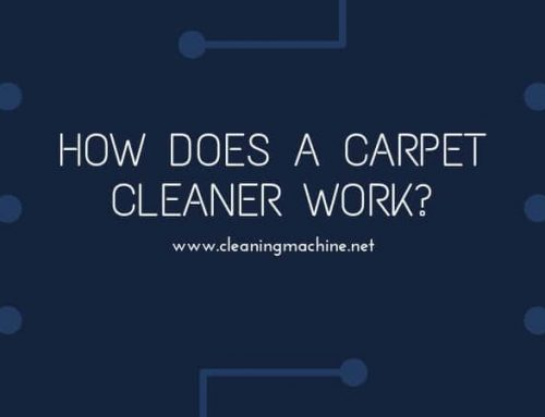 How Does a Carpet Cleaner Work?
