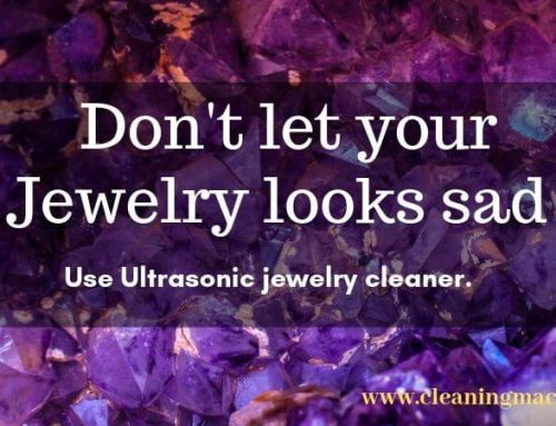 How to Use Ultrasonic Jewelry Cleaner?