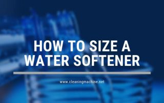 How to Size a Water Softener