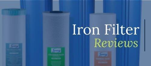 iron filter reviews