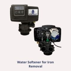 water softener for iron removal