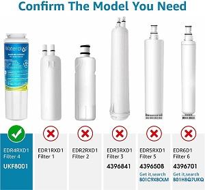 NSF 53 & 42 Certified Top-Notch Fridge Water Filter