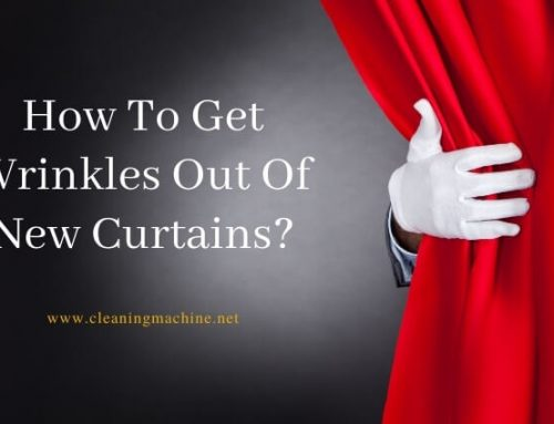 How To Get Wrinkles Out Of New Curtains?